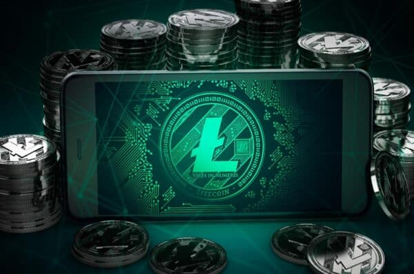 The Count of Active Litecoin Wallets
